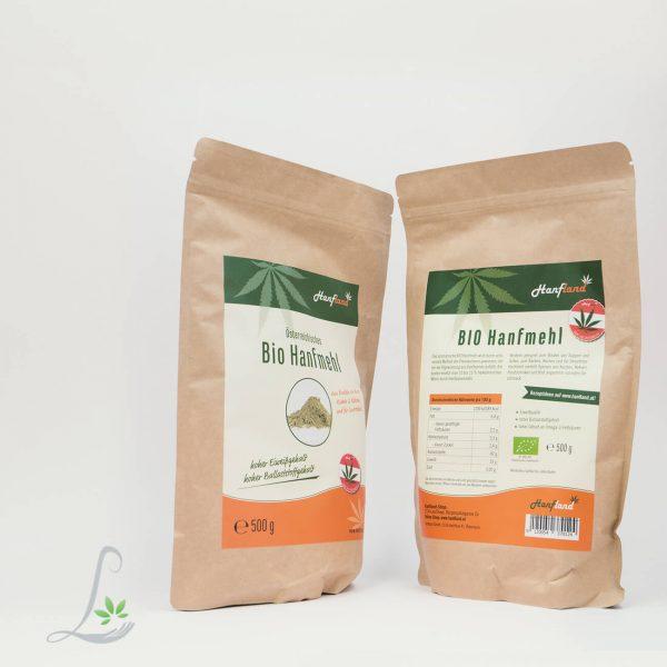 Bio Hanfmehl 500 g Hanfland