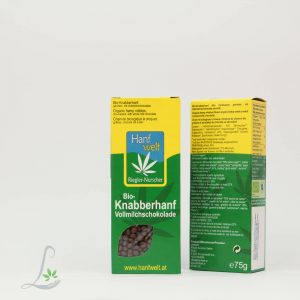 Bio Knabberhanf Vollmilchschokolade 7 Hanfwelt5 g
