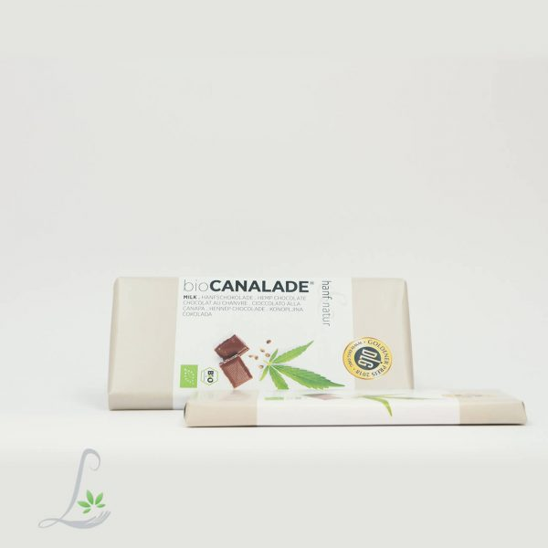 Vollmilch Cannalade - Bio Hanfschokolade