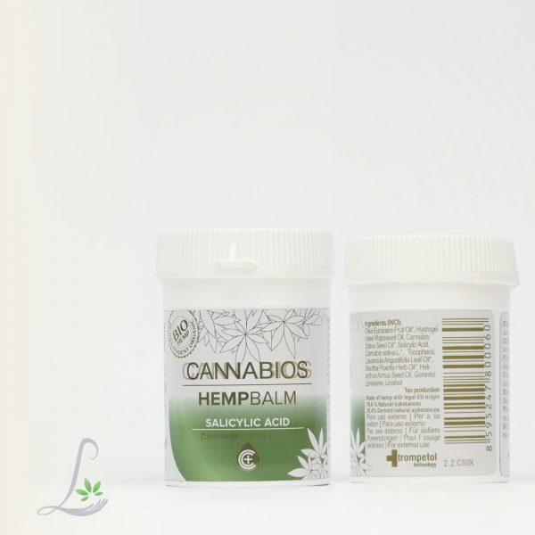 Cannabios Salicylic Acid - Hemp Balm